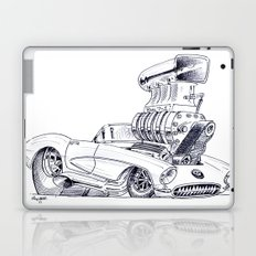 Blown Vette Laptop & iPad Skin