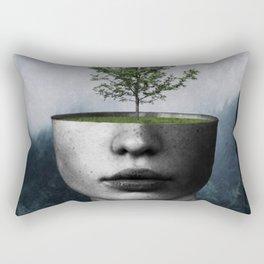 Tree lady Rectangular Pillow