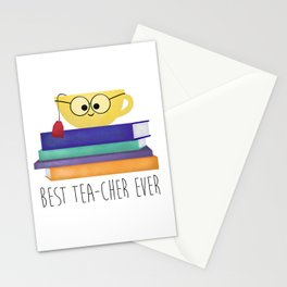 Best TEAcher Ever Stationery Cards