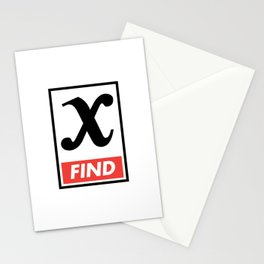 Find x Stationery Cards