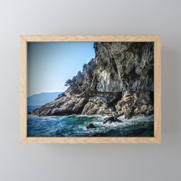 Sea Cliffs Framed Mini Art Print
