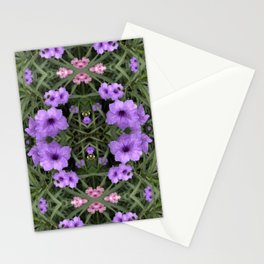 Mexican Petunia Damask Oversize Stationery Cards