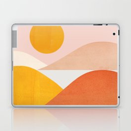 Abstraction_Mountains Laptop & iPad Skin