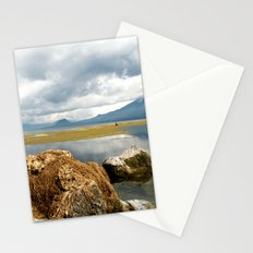 Off the shores of Lake Atitlan Stationery Cards