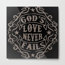God's Love Metal Print