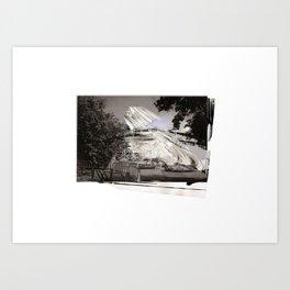 'Decline' (3) Art Print
