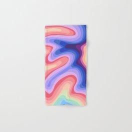 Psychedelic Rainbow 1 Hand & Bath Towel