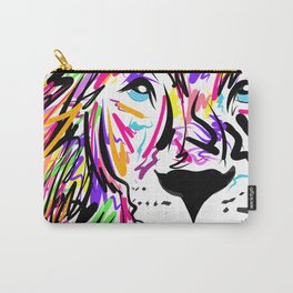 Leo Lion Lines Carry-All Pouch