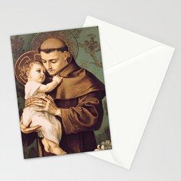 St Anthony of Padua Stationery Cards