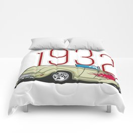 hot rod teeshirt Comforters