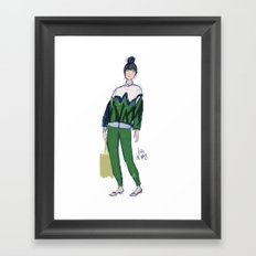 Susie's Bubble Framed Art Print