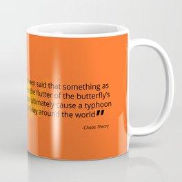 THE BUTTERFLY EFFECT Coffee Mug