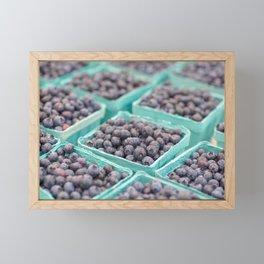 Blueberries on Saturday Morning Framed Mini Art Print