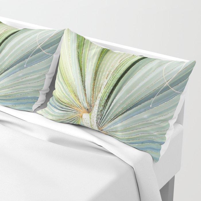 Fanned Palms Pillow Sham