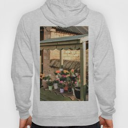 Flower cart in English village Hoody