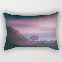 dreamy Joshua Tree at night Rectangular Pillow