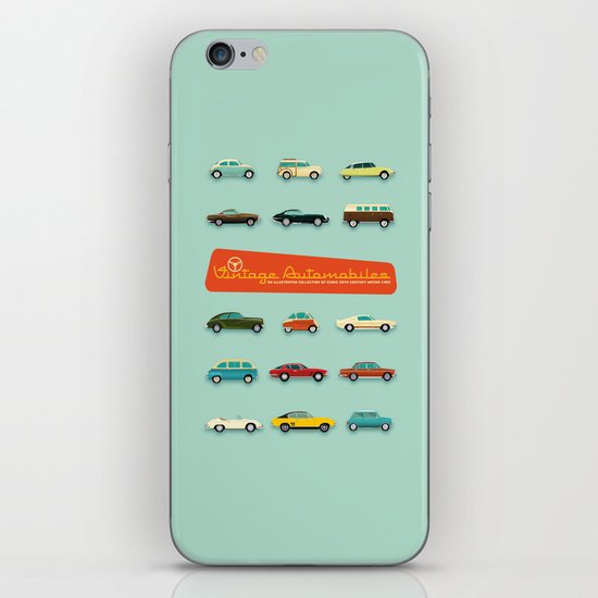 Vintage Automobiles iPhone & iPod Skin