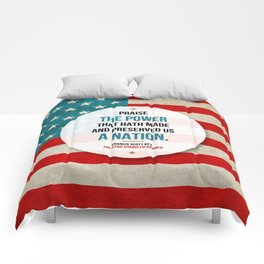 Preserved us a Nation Comforters