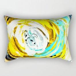 Yellow twister Rectangular Pillow