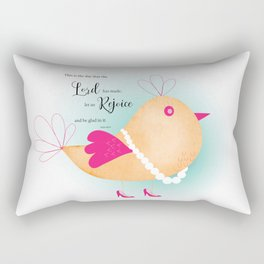 Tweet Birds Rectangular Pillow