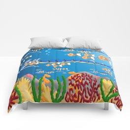 Serpent in the sea Comforters