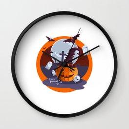 Halloween. Vol 3 Wall Clock