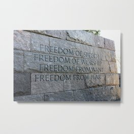 FREEDOM for all of us Metal Print