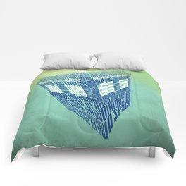 Type40 Doctor Who Calligram Comforters