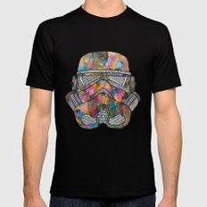 Stormtrooper Galaxy Mens Fitted Tee Black 2X-LARGE