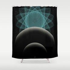 BLUE DWARF Shower Curtain