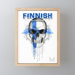 To The Core Collection: Finland Framed Mini Art Print