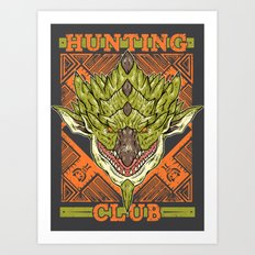 Hunting Club: Rathian Art Print