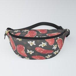 Citrus fresh slice flower pattern Fanny Pack