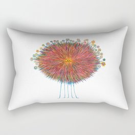 Poofy Frizzle Muff Rectangular Pillow