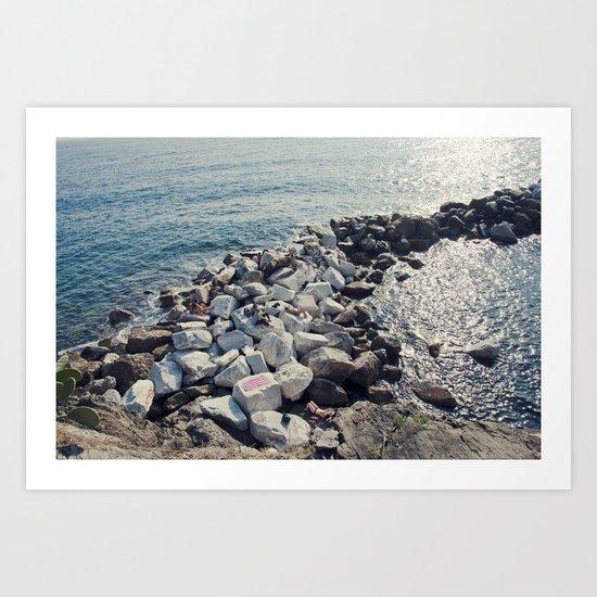Sun Slumber  Art Print