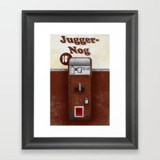 Jugger-Nog Framed Art Print