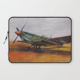Vintage Plane II Laptop Sleeve
