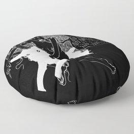 B O N E S Floor Pillow