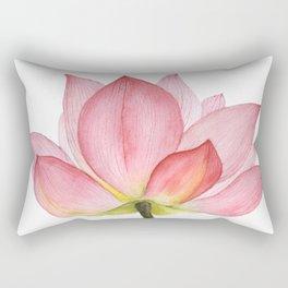Pink lotus #2 Rectangular Pillow