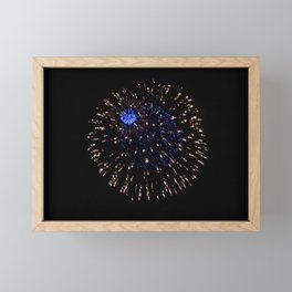 Fireworks 21 Framed Mini Art Print