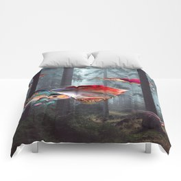 Electric Stingray World Comforters