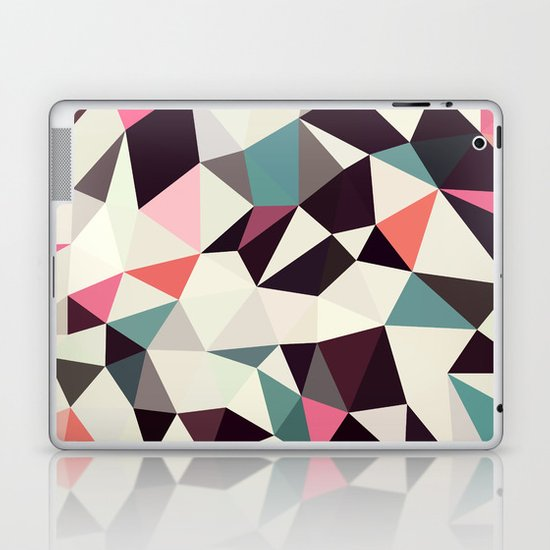 Retro Tris Light Laptop & iPad Skin