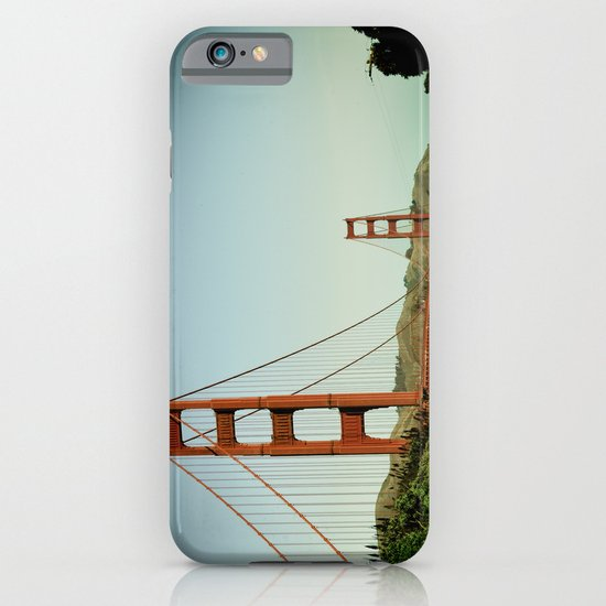 The Golden Gate Bridge at Day iPhone & iPod Case