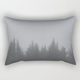 Fog & Forest Rectangular Pillow