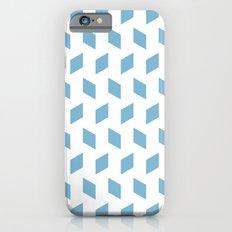 rhombus bomb in dusk blue iPhone 6s Slim Case