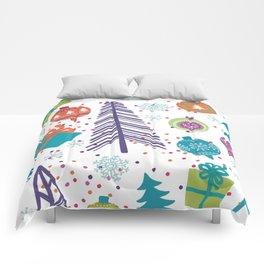 Christmas Pattern 03 Comforters