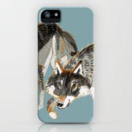 Totem Dark European Wolf iPhone Case
