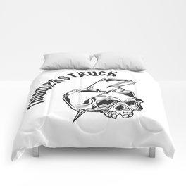 Thunderstruck Skull Comforters