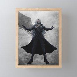 Sephiroth - One Winged Angel Framed Mini Art Print