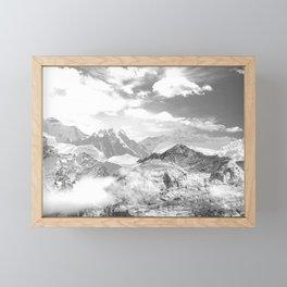 Mountains (photo montage) 2 Framed Mini Art Print